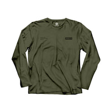 Load image into Gallery viewer, Gracie Humaita Trooper Long Sleeve Gray Tee Shirt