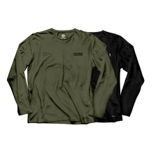 Load image into Gallery viewer, Gracie Humaita Trooper Long Sleeve Tee Shirt Gray and Black