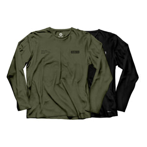 Gracie Humaita Trooper Long Sleeve Tee Shirt Gray and Black