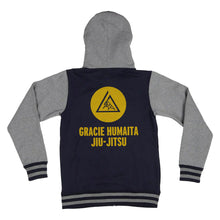 Load image into Gallery viewer, Gracie Humaita Varsity Hoodie Back View