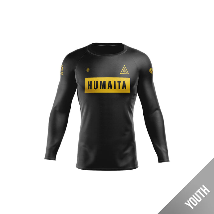 Gracie Humaita Youth Long Sleeve Rash Guard