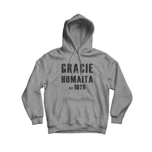Load image into Gallery viewer, Gracie Humaita est.1925 Gray Hoodie