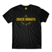 Load image into Gallery viewer, Gracie Humaita College Black Tee