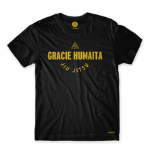 Load image into Gallery viewer, Gracie Humaita College Youth Black Tee