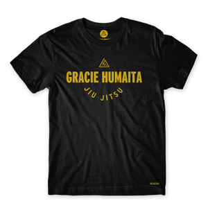 Gracie Humaita College Youth Black Tee