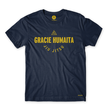 Load image into Gallery viewer, Gracie Humaita College Blue Tee