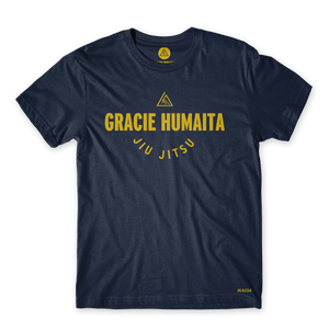 Gracie Humaita College Blue Tee