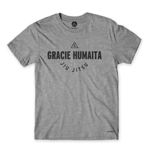 Gracie Humaita College Youth Gray Tee