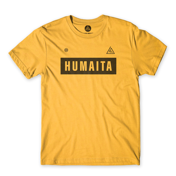 Gracie Humaita Team Yellow Tee