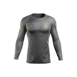 Gracie Humaita LIMITED EDITION L/S Rash Guard - Grey