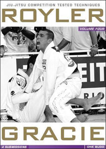 Royler Gracie Competition Tested Techniques Vol. 4 DVD - Submissions