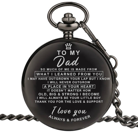To Dad Pocket Watch