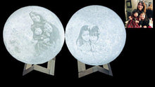 Load image into Gallery viewer, 3D Printing 6 Inches Personalized Moon Lamp, Color - Mom to Daughter