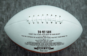 Dad To Son- Never Lose Engraved American Football 002