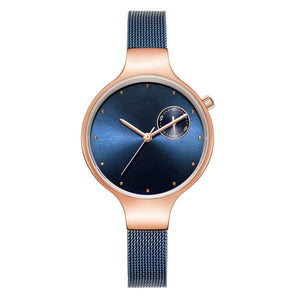 Daughter To Mom-You Are The Most Wonderful One Personalized Three-Hand Quartz Leather Watch