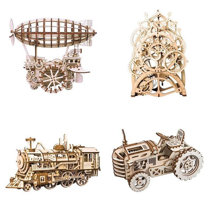 DIY 3D Mechanical Model Building Kit-4 pieces