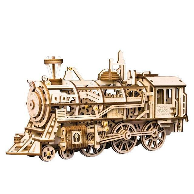 DIY 3D Mechanical Model Building Kit(Locomotive)