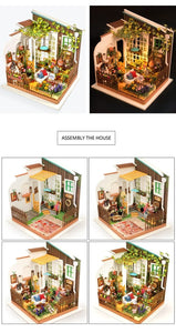 DIY Miniature House-Miller's Flower House