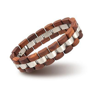 Fashion Wood Bracelet Men Best Gift S05-2-Men
