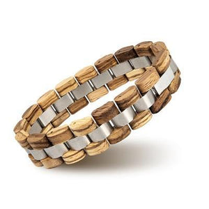 Fashion Wood Bracelet Men Best Gift S05-3-Men