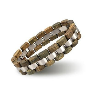 Fashion Wood Bracelet Men Best Gift S05-4-Men