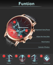 Load image into Gallery viewer, Grandma Grandpa To Grandson-Always Here For You Metal Engraved Wrist Watch