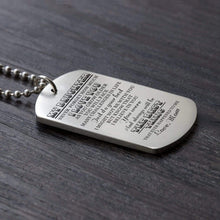 Load image into Gallery viewer, Mom To Daughter-The Best Thing Personalized Dog Tags For Graduation Birthday Gift 6028