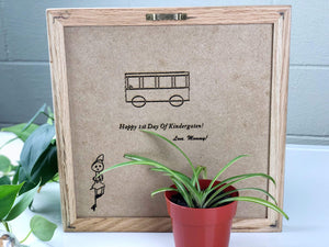 Personalized 10*10 Felt Letter Board For First Day Of School-New Parent Gift