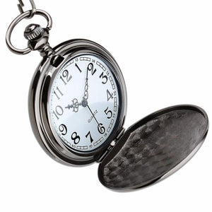 Personalized Engraved Pocket Watch For Men, Color - To Husband