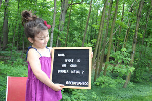 Personalized Felt Letter Board For First Day Of School-New Parent Gift