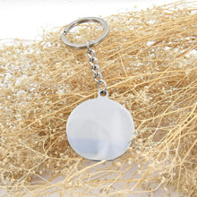 Load image into Gallery viewer, To Fiance-Find You Soon and Love You Longer Engraved Necklace and Key Chain Keychain