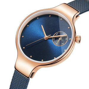 To Future Wife-Love Of My Life Personalized Three-Hand Quartz Leather Watch