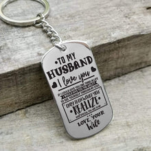 Load image into Gallery viewer, To Husband-How Special You Are To Me Personalized Dog Tags 6069