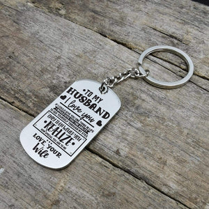 To Husband-How Special You Are To Me Personalized Dog Tags 6069
