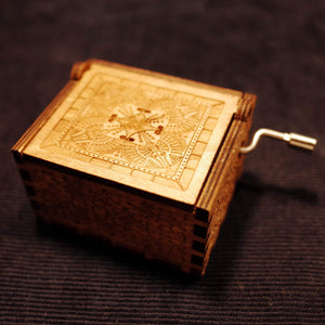 To Husband-Love You More Than You Know Engraved Wooden Music Box  MB011