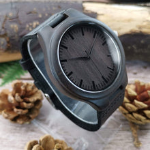 Load image into Gallery viewer, To Husband- Nothing Can Do Us Apart Engraved Wooden Watch