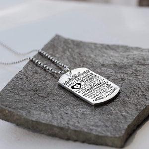 To Husband-We Will Grow Old Together Personalized Dog Tags For Birthday Gifts 6072
