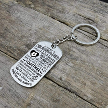 Load image into Gallery viewer, To Husband-We Will Grow Old Together Personalized Dog Tags For Birthday Gifts 6072