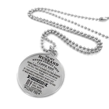 Load image into Gallery viewer, To Husband-When I Gave My Heart To You Engraved Necklace and Key Chain Necklace