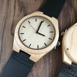 Engraved Wooden Watch for Mom