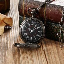 Load image into Gallery viewer, To My Son I Love You Forever Engraved Pocket Watch Black