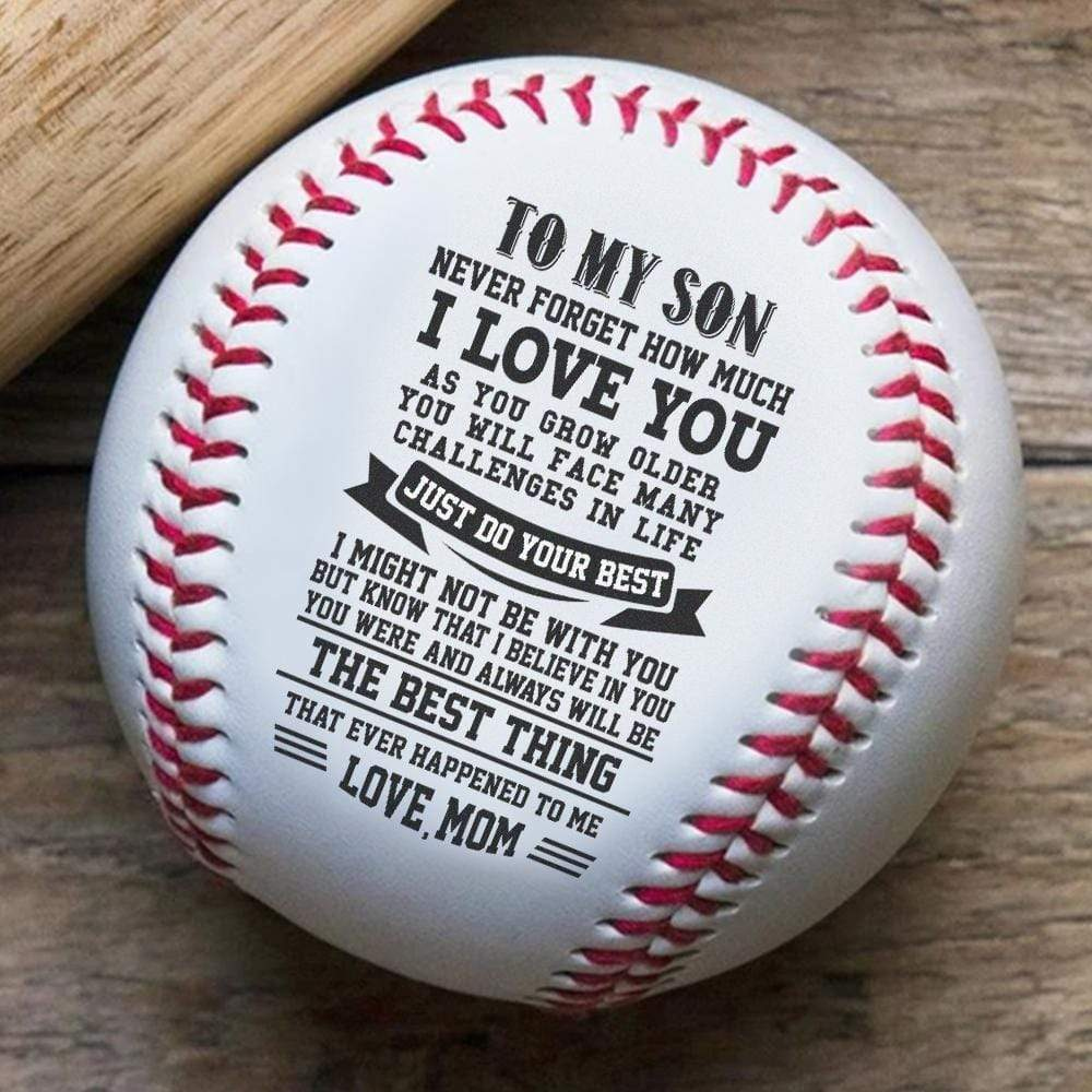 To Son- Best Thing That Ever Happened Mom To Son Baseball Gift