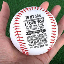 Load image into Gallery viewer, To Son- Best Thing That Ever Happened Mom To Son Baseball Gift