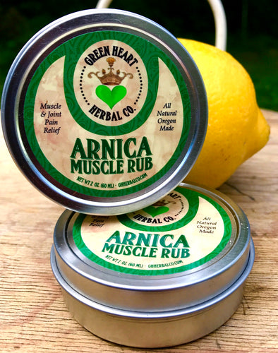 Green Hearted Herbal Co. Arnica Muscle Rub