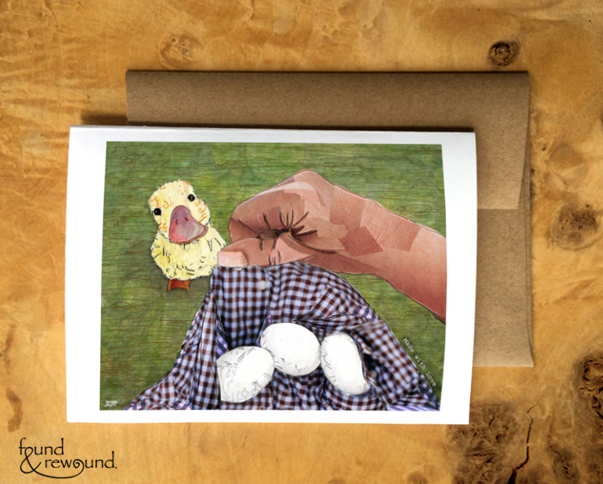 Duck and Eggs Card