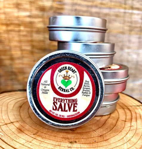 Green Hearted Herbal Co. Everything Salve