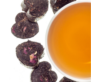 Dark Rose Heart Tea