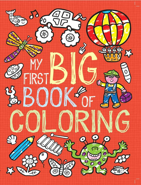 My First Big Bookof Coloring