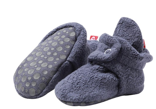 Zutano Unisex-Baby Newborn Cozie Fleece Booties