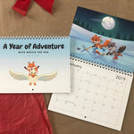 A Year of Adventure - Hey Rocco 2019 Wall Calendar